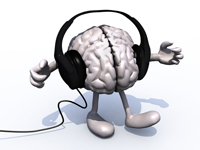 binaural beats brain with headphones
